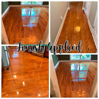 Dust-Free Tykote Wood Floor Refinishing