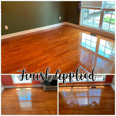Dust-Free Tykote Wood Floor Refinishing in Gainesville and North Georgia